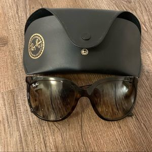 EUC Ray Ban Cat Eye in tortoise